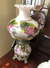 Antique lamp $60