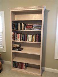 Solid wood bookshelf $100