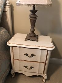 French provincial nightstand no painting needed $40