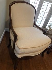 Oversized upholster chair $100