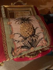 Pineapple pillow $10