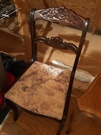 Single side chair $10