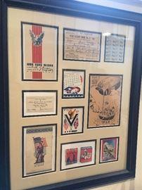 Antique Patriotic Memorabilia.