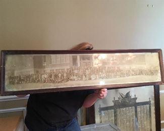Panoramic Photograph of Fredericksburg, Va, School