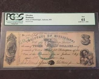 Civil War Money