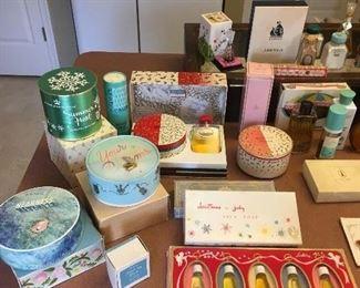 Antique & Vintage Perfumes ,Powder Boxes.etc...