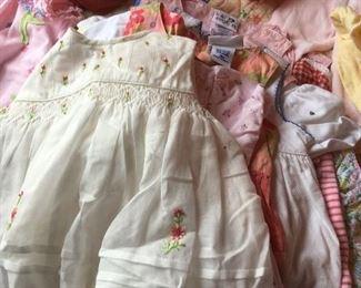 Little Girl's Dresses.