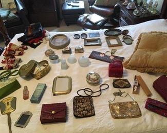 Ladies Vintage Items, purses,Dolls,etc...