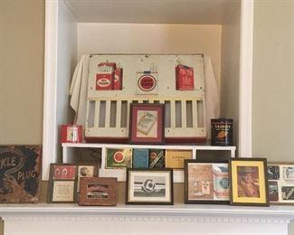 Antique & Vintage Cigarette Items.