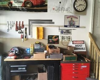 Tools (work Bench is not for sale)