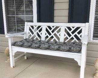 White Bench.