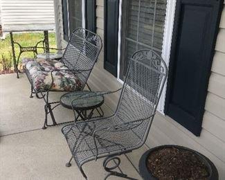 Wrought Iron Porch Furniture