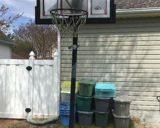Free Standing Basketball Goal