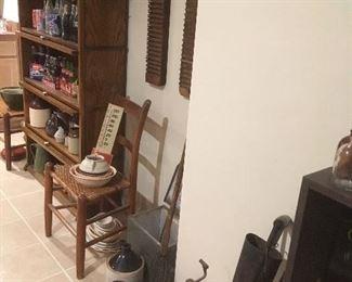 Assorted Antique & Vintage items. Cigar Mold, Sprinkler, Jugs, Wheel,etc...