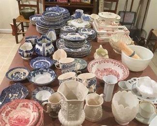 Antique & Vintage Transfer Ware, Lenox,etc...
