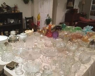 Antique & Vintage Glassware .