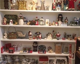 Christmas Items. Old & New