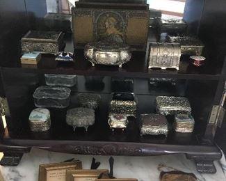 Vintage Trinket Boxes