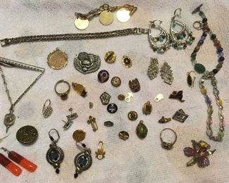 Lots & Lots of Vintage & Antique Jewelry