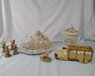 Pig collectibles
