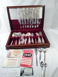 silver plated silverware