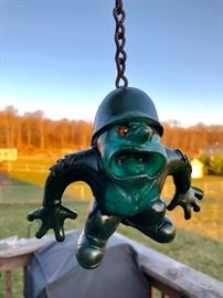 "RARE Russ Berrie oily jiggler ""Sarge"" figure!"