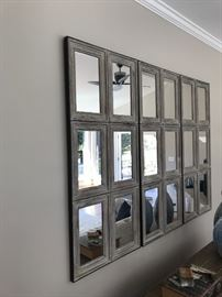Sectional mirror