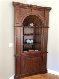 Stunning corner cabinet