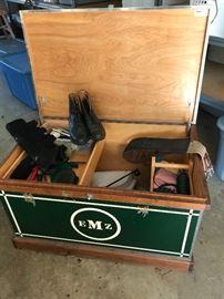 Horse tack box