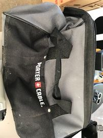 Three set nailer carry bag