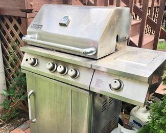 JennAir gas grill