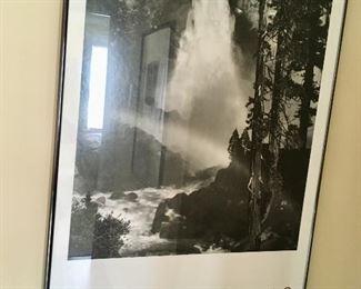 several framed Ansel Adams prints