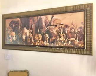 """Noah's Ark"" by Hatuo Takino, over 6 ft wide"