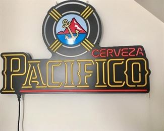 Pacifico Cerveza Large Neon Bar Sign