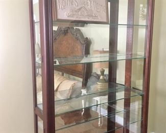 Oversized display cabinet