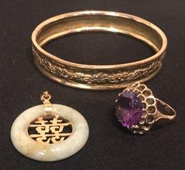 gold estate jewelry