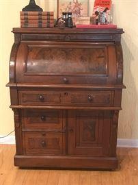 Antique Watch Maker's Desk, Chucks' Grandfathers