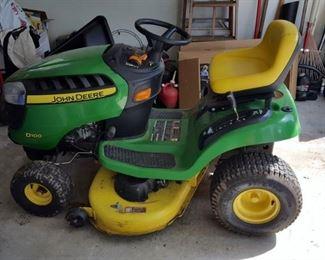 "John Deere D100 Lawn Tractor w/ 42"" Mower - had Deluxe Lawn Service completed by John Deere dealer in 2016"