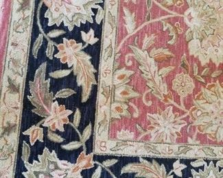 area rug detail