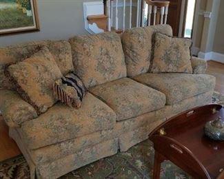 84 inch cloth sofa