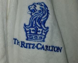 2 plush bath robes from The Ritz Carlton, new