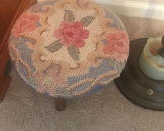 Hand made stool top