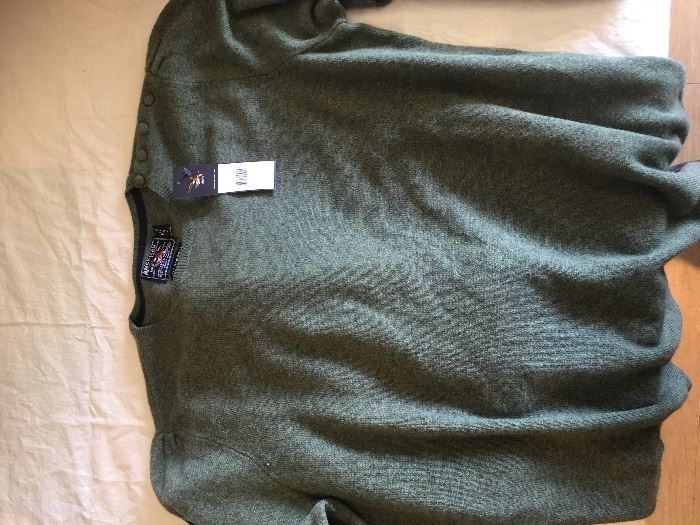 Brand new never worn cashmere sweaters...tag still on them. 150 dollars at the store