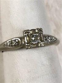 Jc029 Diamond  14Kt Gold Ring