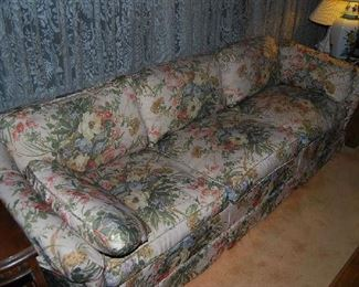 UPHOLSTERED SOFA - HAS MATCHING LOVESEAT