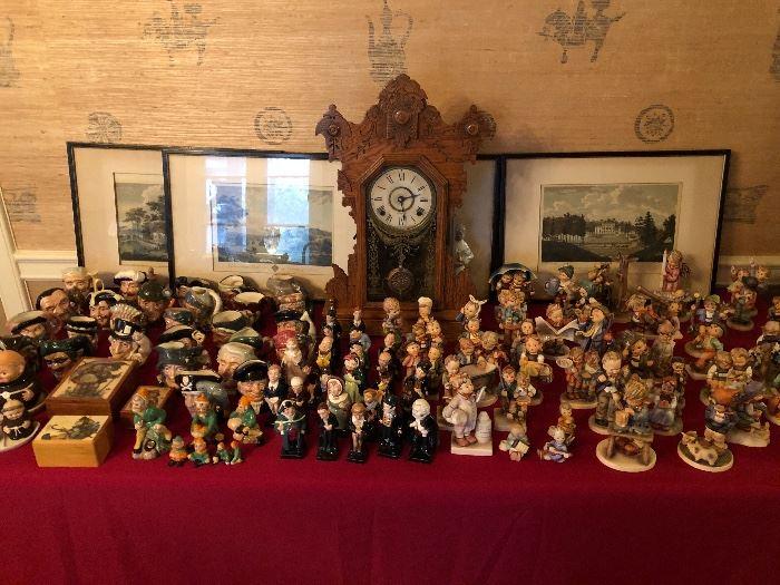 Royal Doulton Tobys, Dickens figures & Hummels