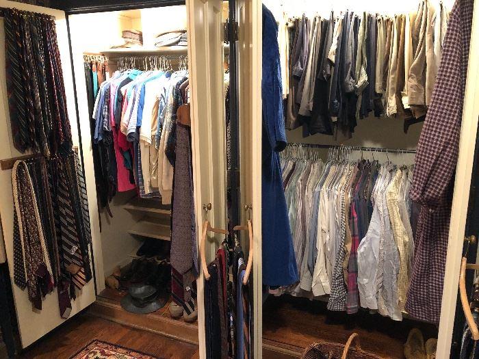 Mens closets