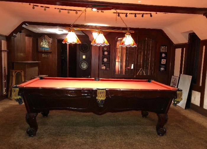 Brunswick Orleans pool table in good condition