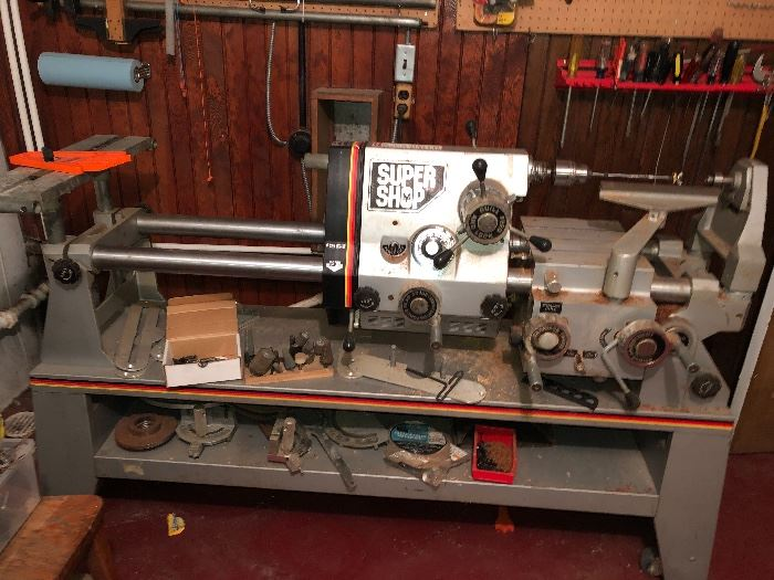 Super shop Multi-Purpose lathe