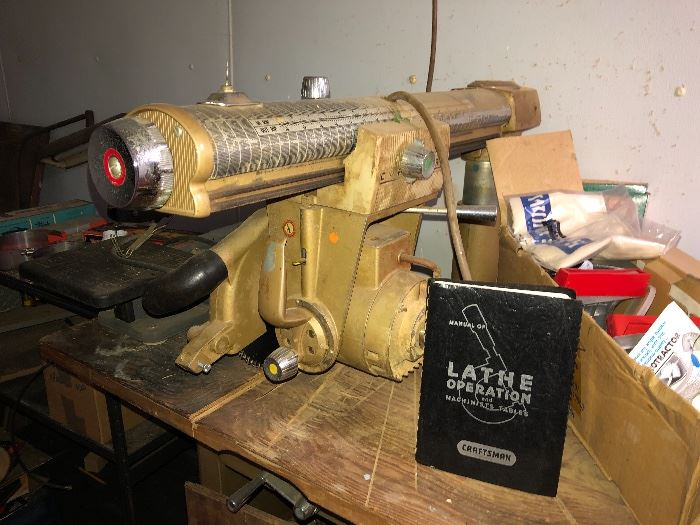 Craftsman radial arm saw